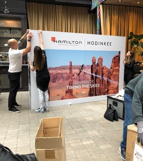 Hamilton Watches Event